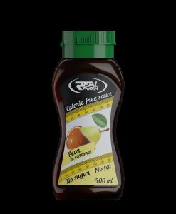 pear-caramel syrup