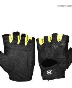 womens training glove black,lime