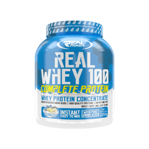 Real Whey Protein 2250g - fit360.ee