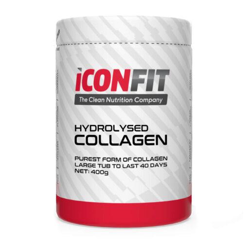 Hüdrolüüsitud kollageen 400g ICONFIT - fit360.ee