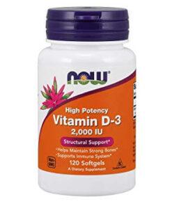 Now foods Vitamiin D3 - vitamiinid - fit360.ee