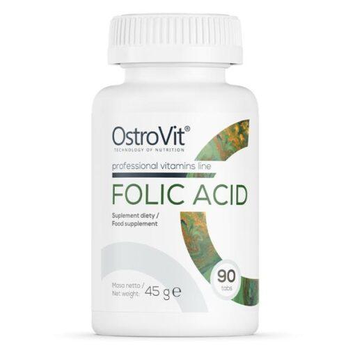 Foolhape Folic Acid Ostrovit - fit360.ee