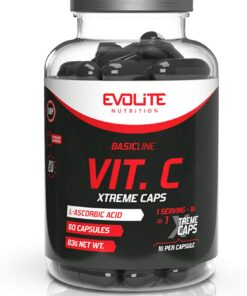 Vitamiin C kapslid 1000mg Evolite - fit360.ee
