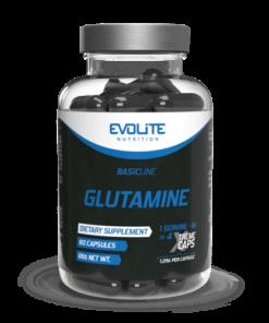 Evolite Glutamiin Mega kapslid L-Glutamiin - fit360.ee