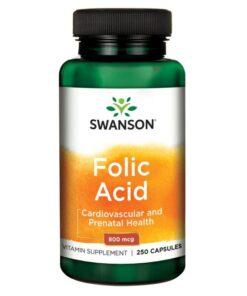 Foolhape Folic Acid Swanson - fit360.ee