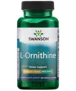 L-Ornitiin Ornitiin Swanson - fit360.ee