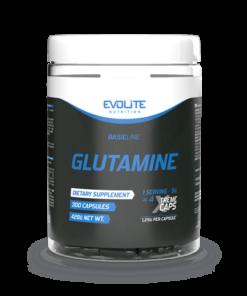 Evolite Glutamiini kapslid L-Glutamiin - fit360.ee
