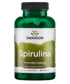 Spirulina tabletid spiruline swanson - fit360.ee