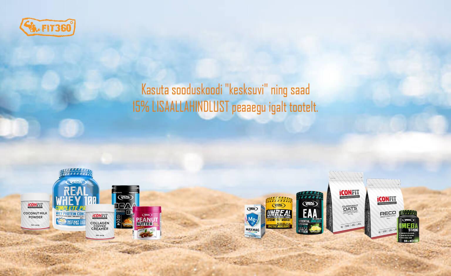 toidulisandid valgupulbrid kollageen rasvapõletajad kampaania - fit360.ee