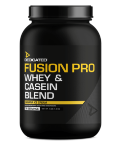 dedicated nutrition fusion pro protein blend - fit360.ee