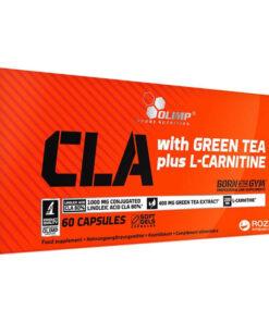 olimp cla, green tea + l-carnitine - fit360.ee
